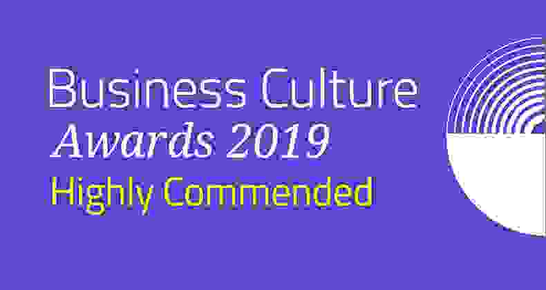 Highly Commended at the Business Culture Awards