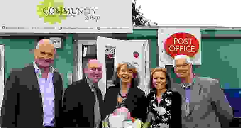 """Community has been really positive about the new shop and Post Office"""