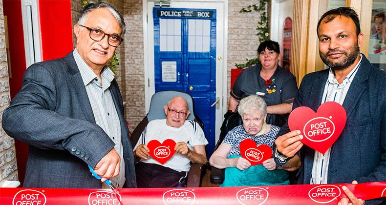 Pretend Post Office for care home residents