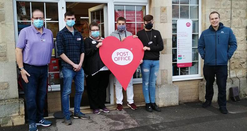 MP thanks Shrivenham Post Office for going the extra mile