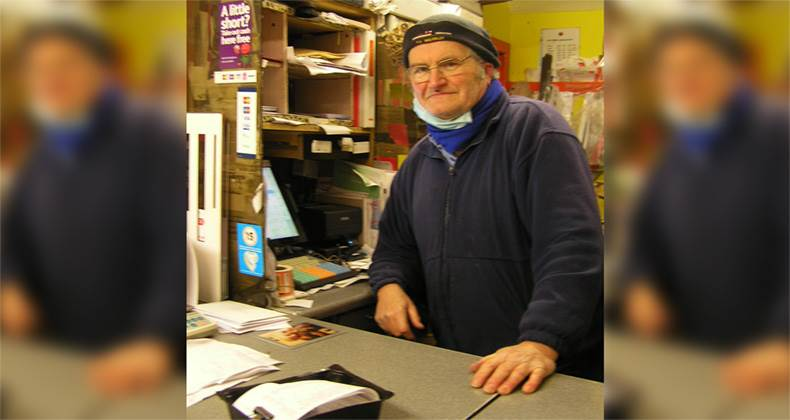 Postmaster Keith recognised in New Year's Honours