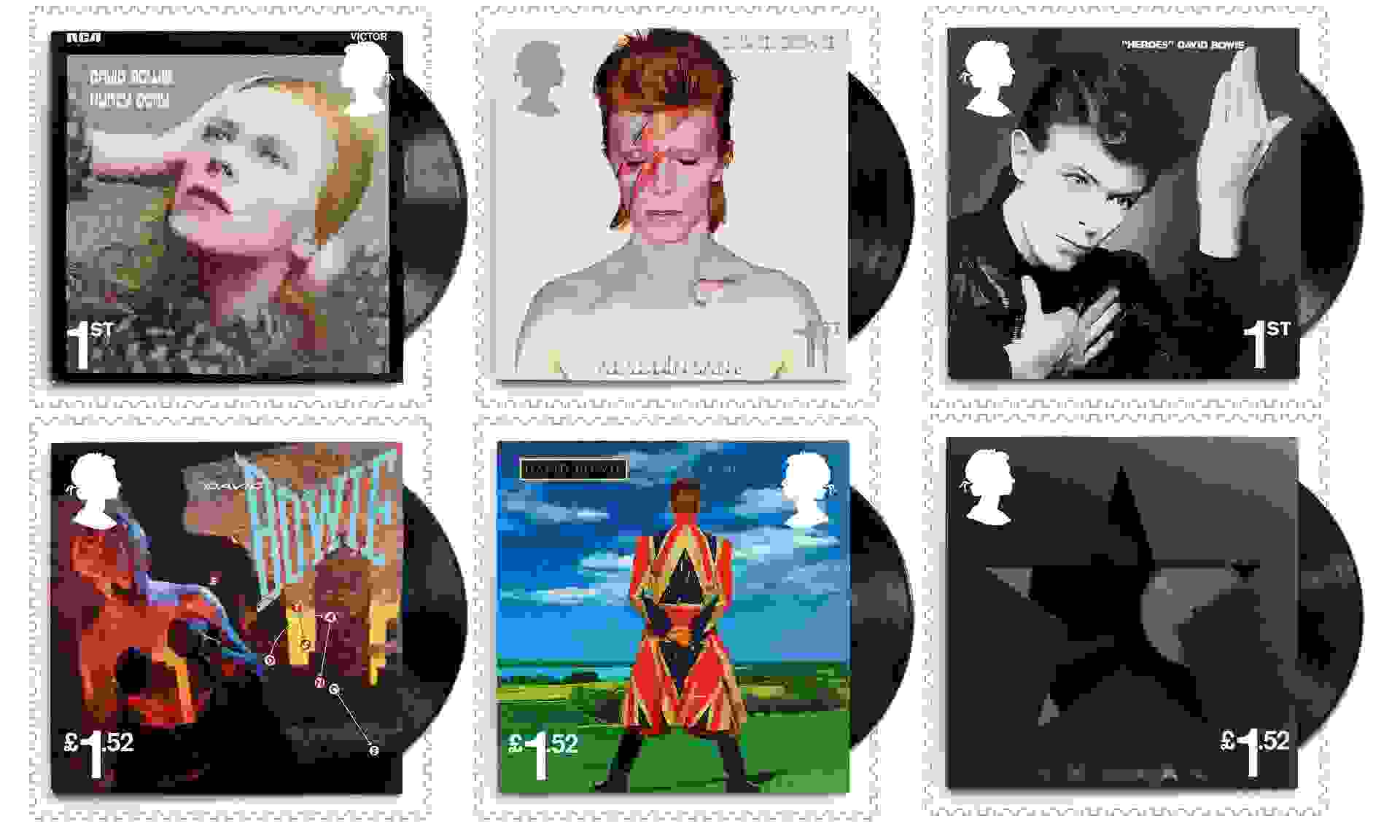 Stamp tribute to David Bowie